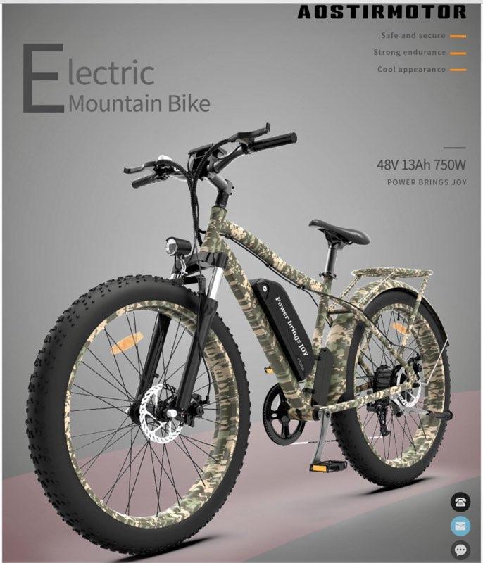 electric bike raffle